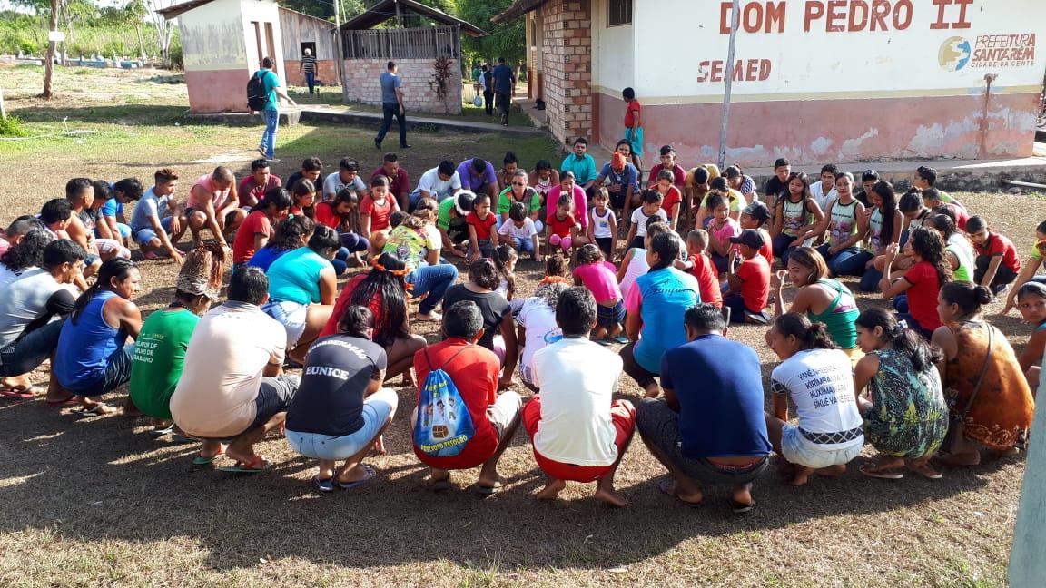 A 4ª Etapa Local da 6ª Conferência Nacional de Saúde Indígena do Polo Base de Oriximiná foi realizada nos idiomas Wai wai, Kaxuyana e Português. Confira como foi na matéria da @SESAI_MS https://t.co/Ql8lX13aHp