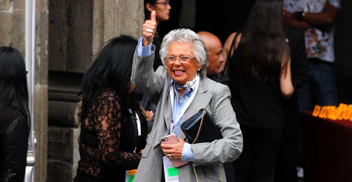 Image result for olga sanchez cordero secretaria de gobernacion