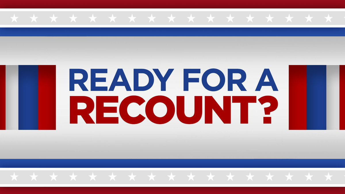 62f420c202a  Florida is facing an unprecedented three possible statewide recounts.  Here s an explanation and timeline of how a  FloridaRecount works. ...