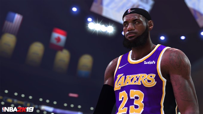 07d410df8 You can now play as Headband LeBron in  NBA2K19 🙏 Should Headband   KingJames get a 99 rating 🤔