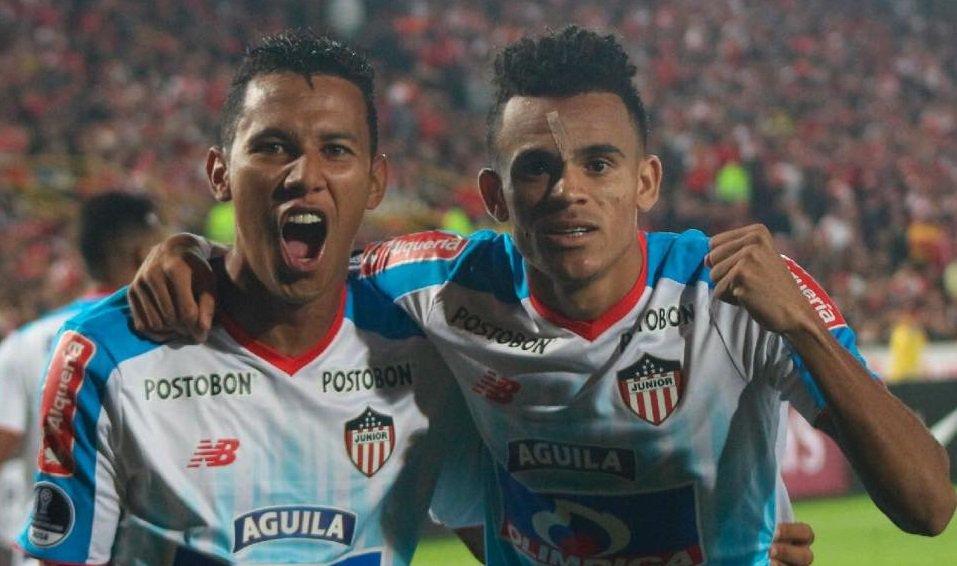 Confira os melhores momentos de Santa Fe 0x2 Junior Barranquilla pela  Conmebol Sul-Americana 👉 3179e5363fb42