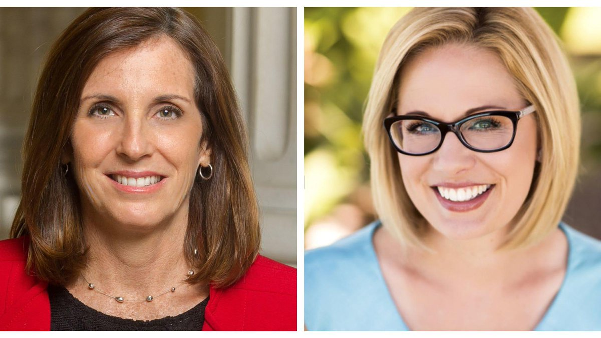 Sinema takes lead over McSally in tight US Senate race as new vote totals released https://t.co/yZzMPc9hwW