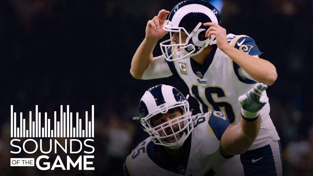 Move on + get better. Sounds of the Game: #LARams vs. Saints