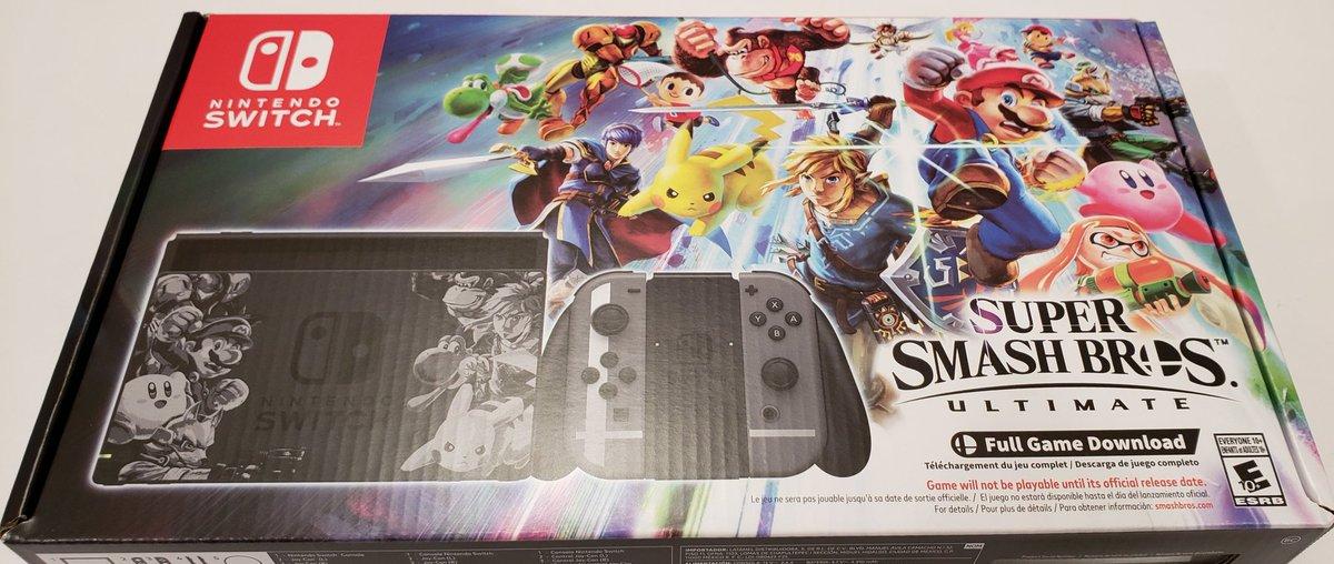 Scott Vs Box On Twitter Nintendo Switch Super Smash Bros Ultimate