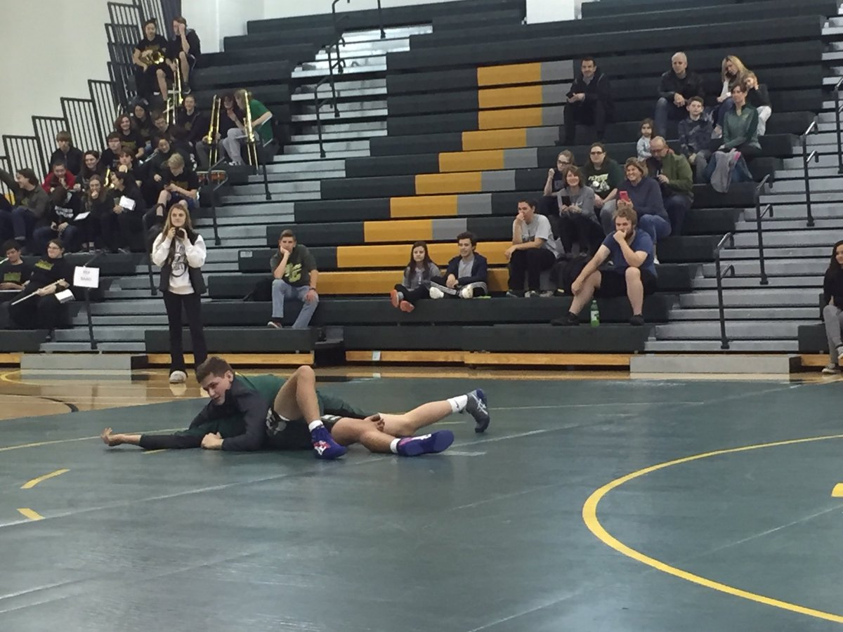 Boys wrestling is ready for a great season as well! #GreenandGold