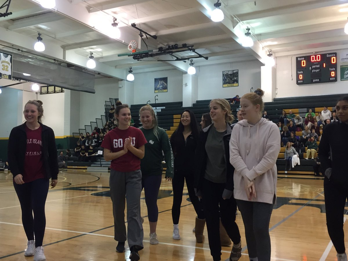 Girls Swim team, led by great captains, are ready for a phenomenal season. #GreenandGold