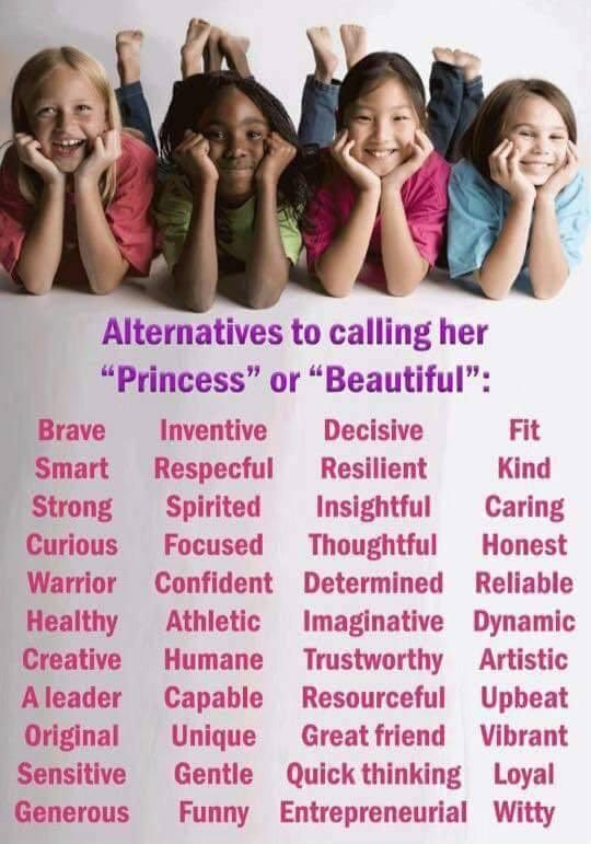 Words to call a girl pretty
