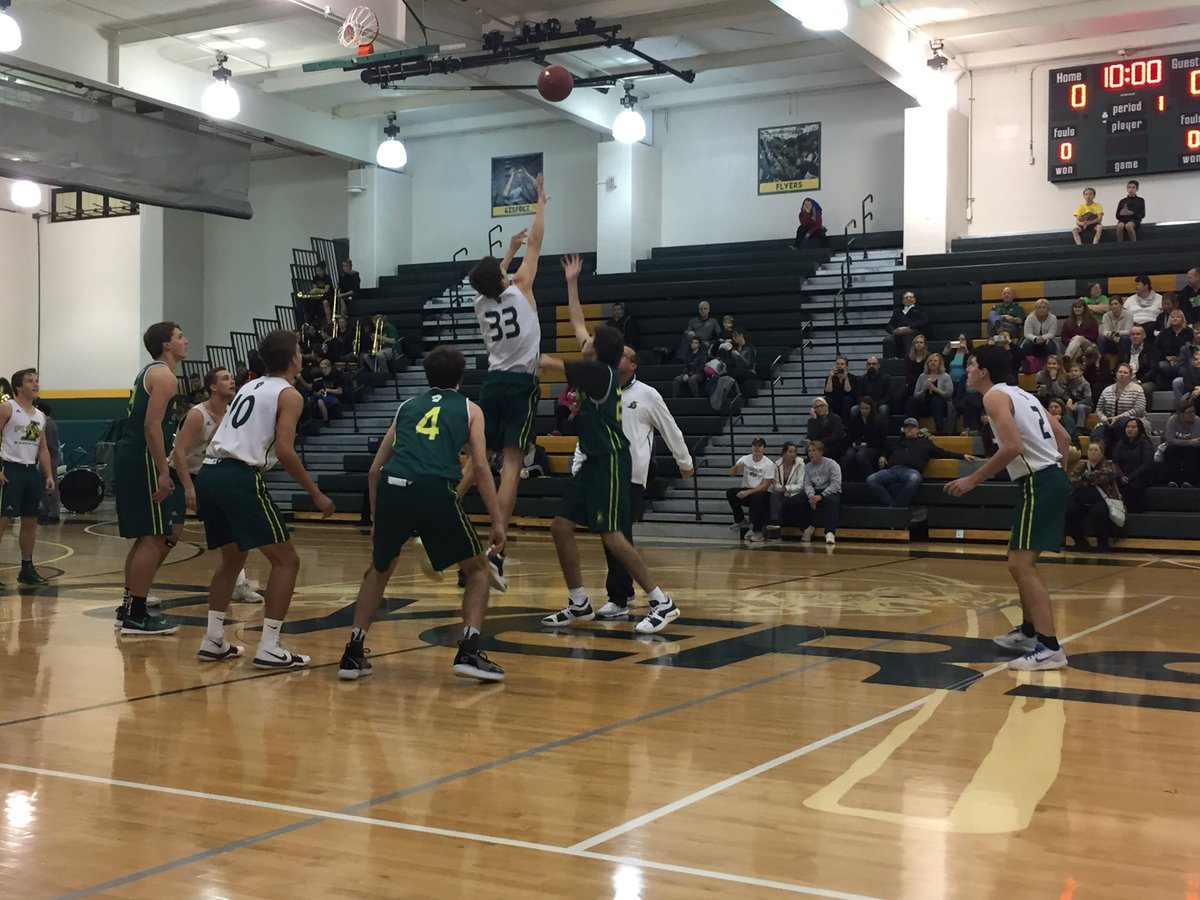 Boys Basketball is ready to tip off a great 2018-19 season! #GreenandGold