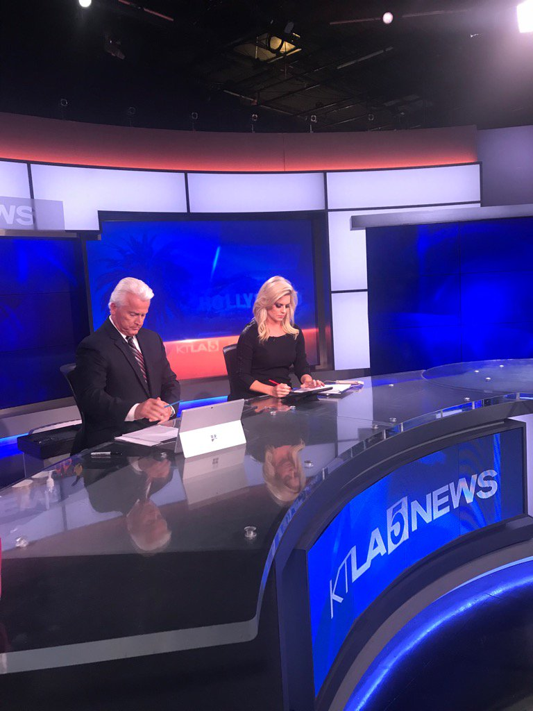 Crazy news day- covering #HillFire and #BorderLineShooting on @KTLA now 4-6pm/7-8pm w/ @TheRickChambers