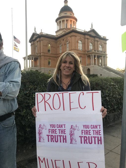 #ProtectMueller Outside the Placer County Courthouse, Auburn CA Photo