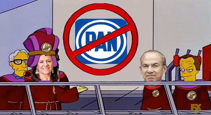 👉Parece que Felipe Calderón quiere crear un nuevo partido: - Atención, doy principio a la primera reunión de la antigua sociedad mística de los: No Panistas Photo