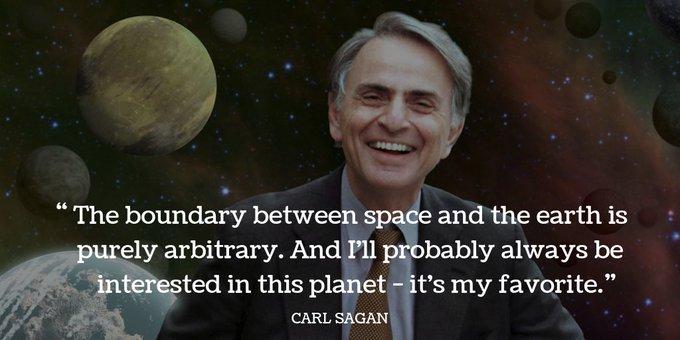 Ours, too. Happy birthday, Carl Sagan.   ( credit: