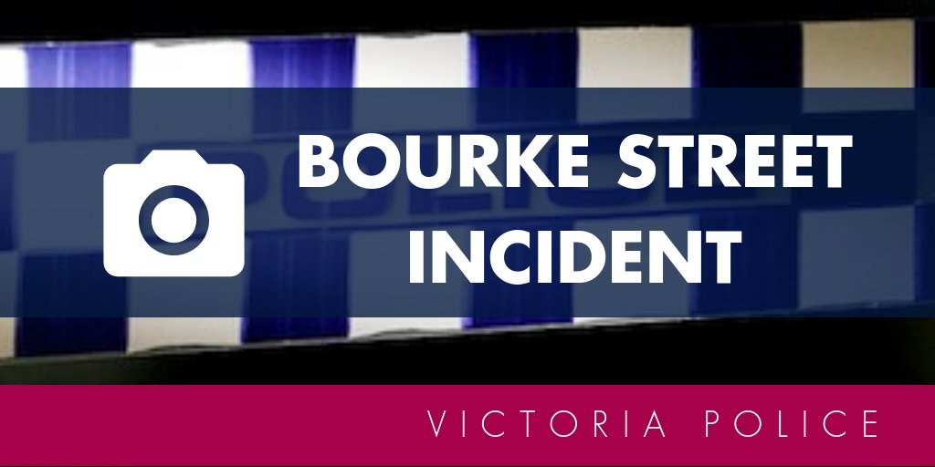 If members of the public have images or video footage that may assist police with their investigation into the Bourke Street incident that occurred just after 4pm today, they are encouraged to upload them here → https://t.co/swUcgLVz23