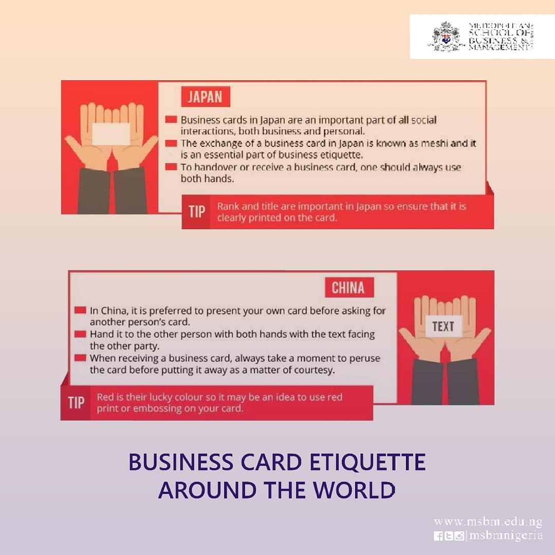Businesscardetiquette Hashtag On Twitter