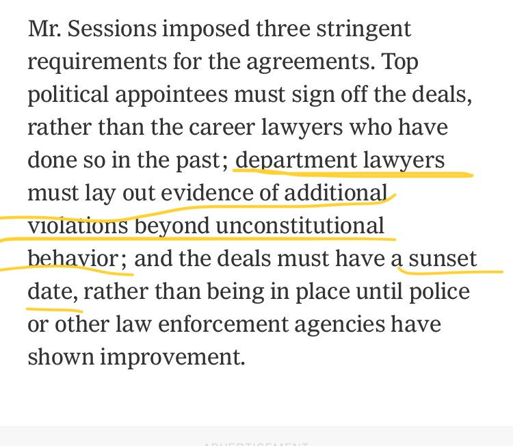 @nytimes Sorry, now we need more than outright constitutional violations? Come again? https://t.co/UqN7L6Tdi5