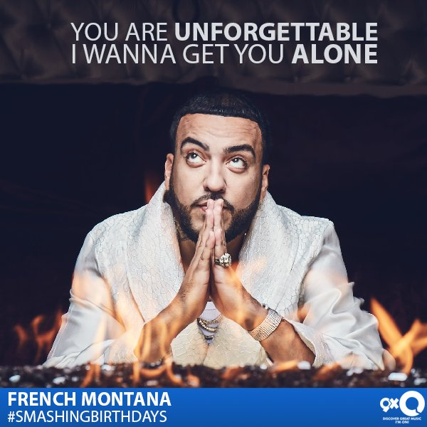 The unforgettable, French Montana celebrates his today!  Happy Birthday French!