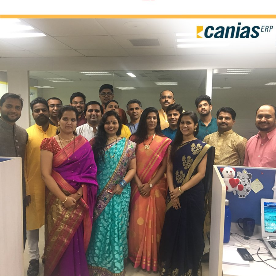 CANIAS ERP's photo on #Diwali