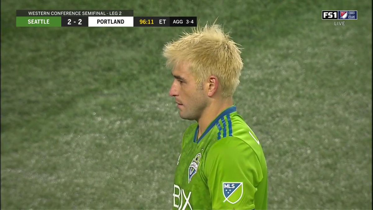 WHAT A GAME! Its tied again in extra time. Lodeiro from the penalty spot after a handball is called. #SEAvPOR