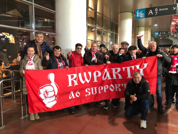 #СпартакРейнджерс 4-3 #rwparty С победой! Photo
