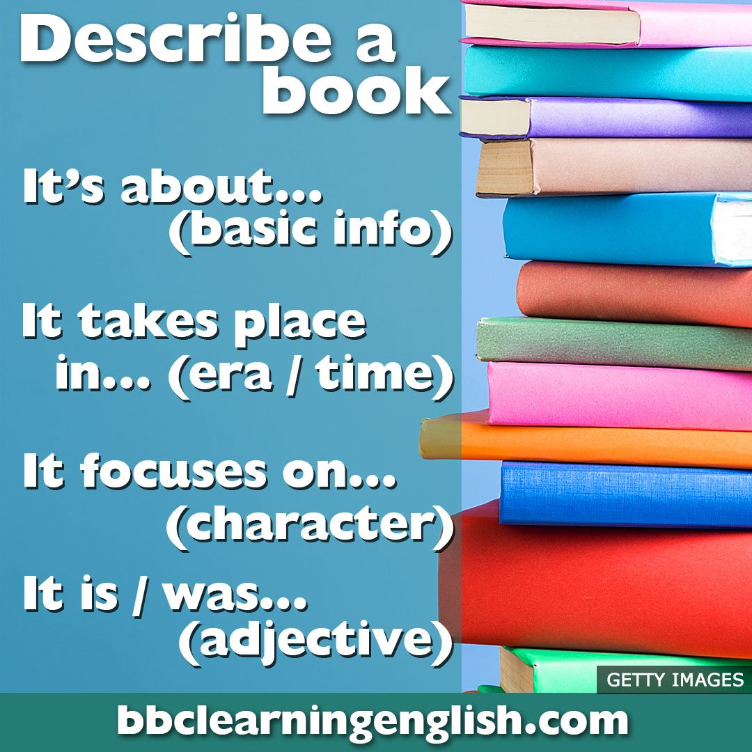 📚 Who doesn't love books? 📚 Here are some easy phrases to help you talk about what you're reading! 📚 (They also work for movies and plays too!) 🤫 😉  Learn #English with us: https://t.co/tMAT2XHUEJ  #books #vocabulary #learnenglish #esl #vocab
