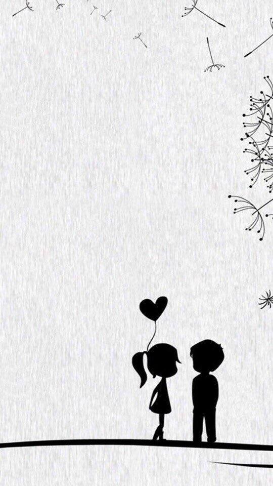 стрельнуло мультяшные картинки о любви черно-белые поздравить сашу