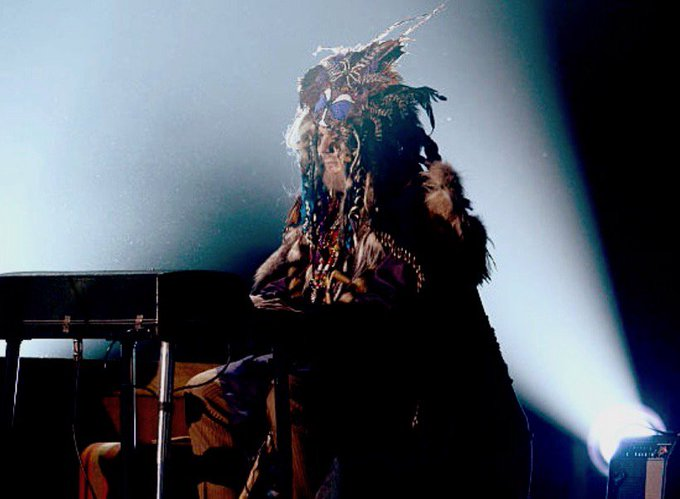 The Night Tripper performing at the 55th Grammy Awards, where he won for Locked Down [Photo by Kevin Winter / Getty] #FlashbackFriday #DrJohn Photo
