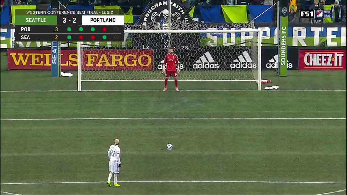 Mr. Playoffs! Dairo Asprilla settles an EPIC game in the penalty shootout. #SEAvPOR