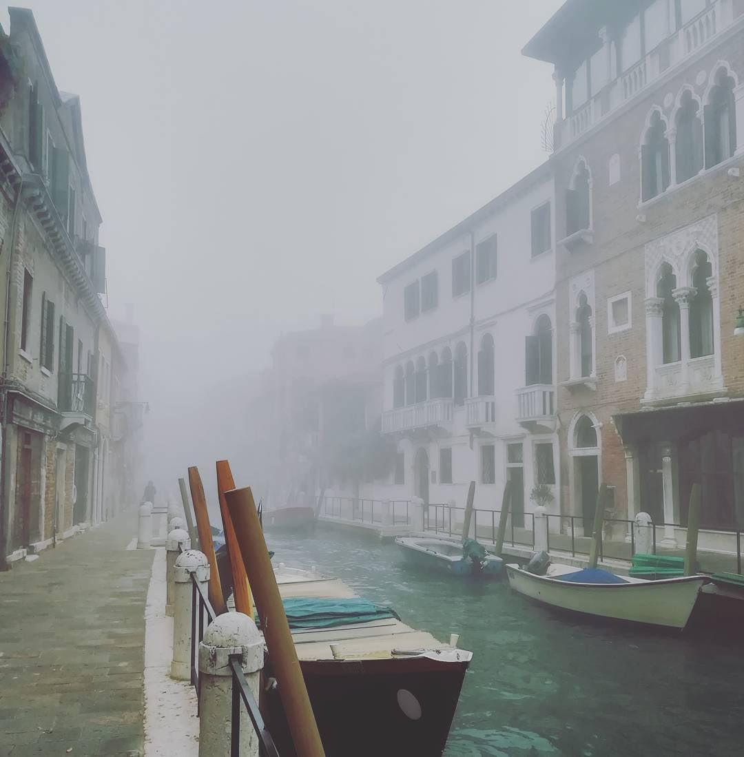 RT @teatrolafenice: 🍁 La nebbia sospende il tempo. Buongiorno, amici.. 🍁  #9Novembre  #MyMoodOfTheDay https://t.co/tvqBMrjNI4