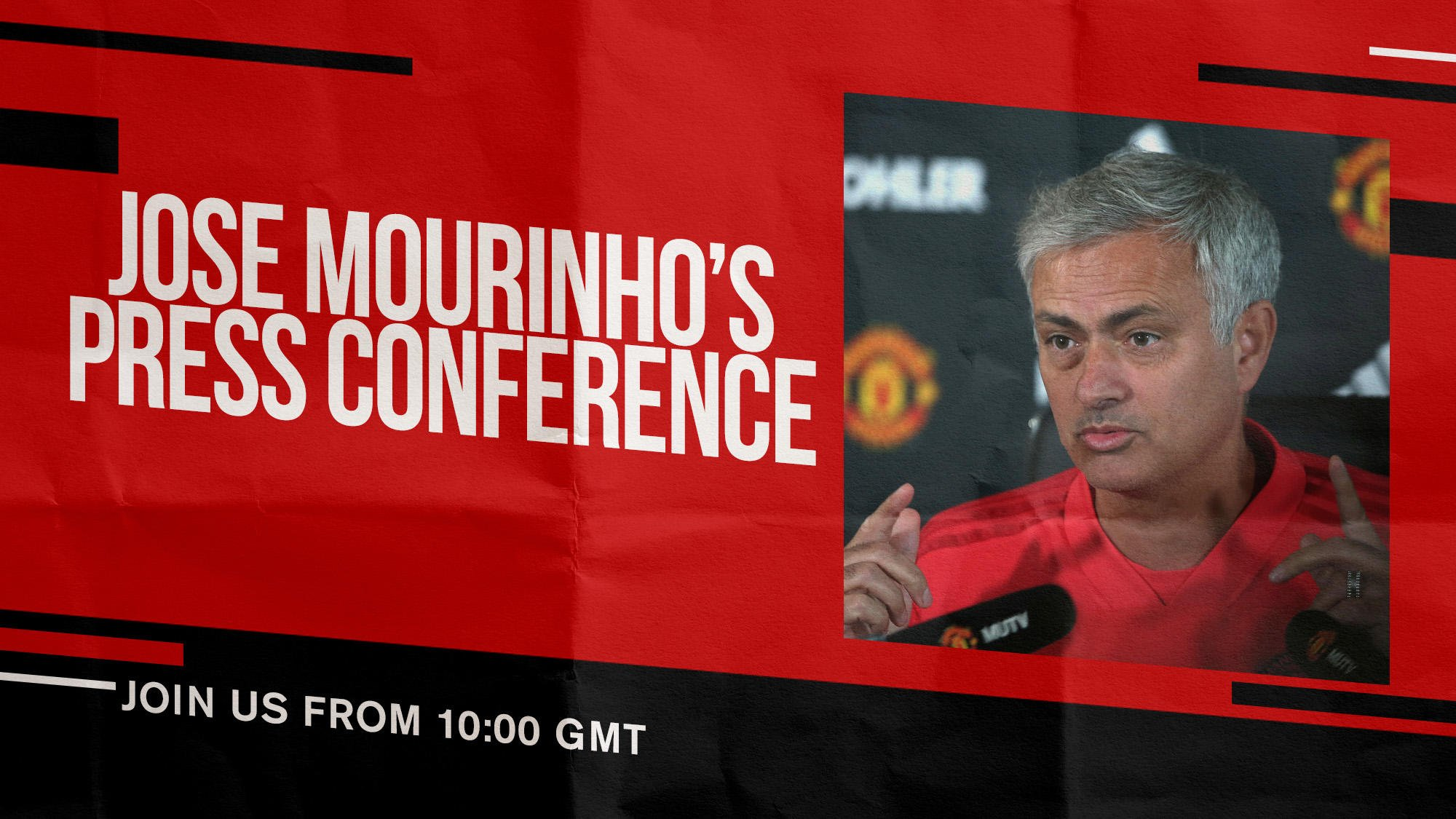 The boss will address the media ahead of Sunday's Manchester derby later this morning. #MUFC https://t.co/XIl4dPKWK2