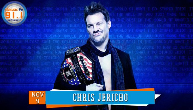 Happy birthday to former WWE professional wrestler, Chris Jericho.