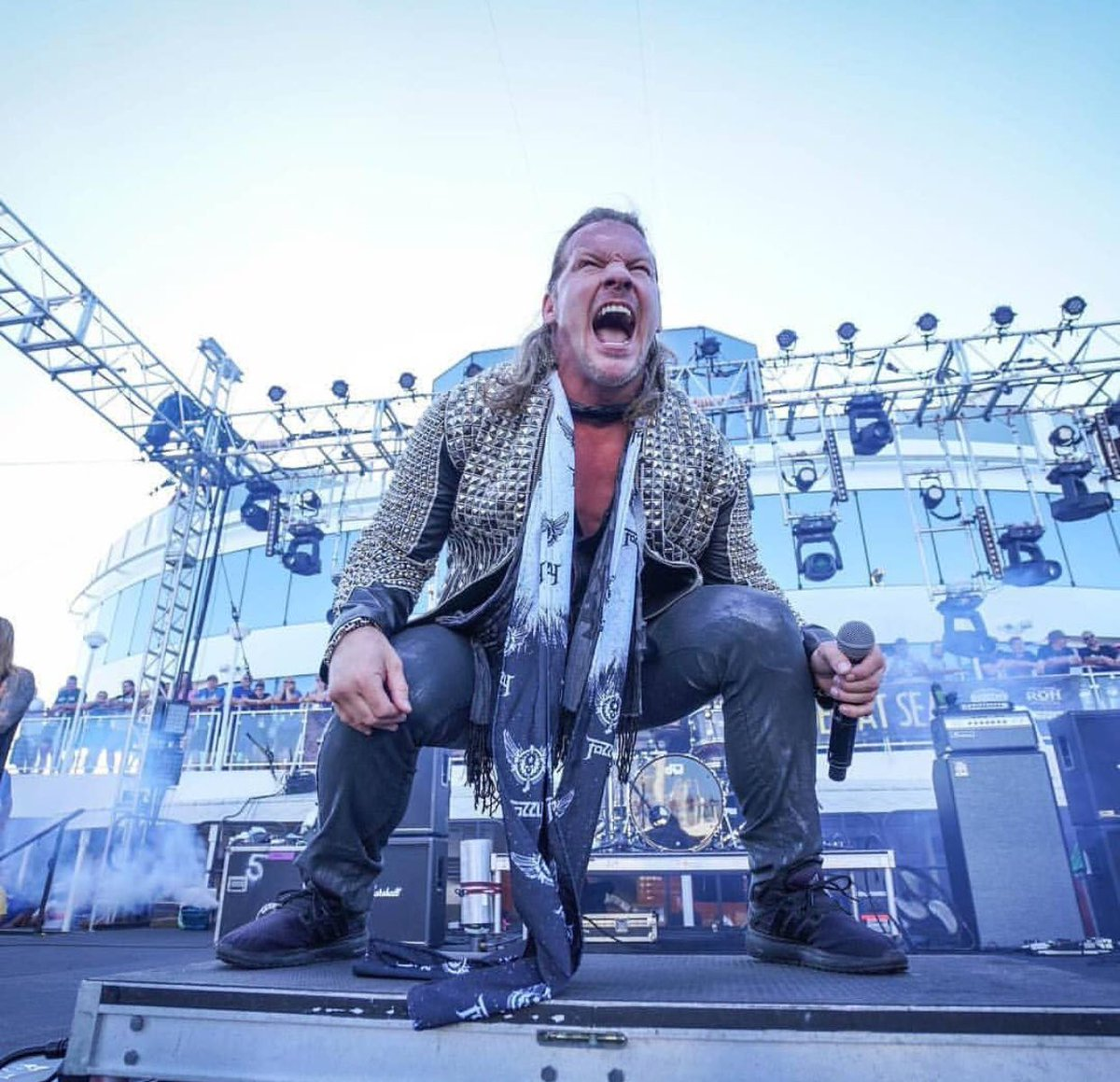 Happy Birthday to the REAL 🐐...the man himself, our fearless leader.... CHRIS JERICHO!!! @IAmJericho #chrisjericho