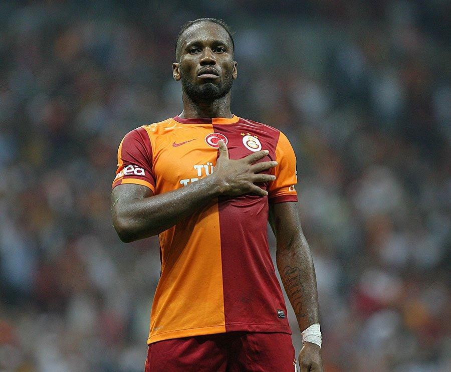 RT @ntvspor: Galatasaray'dan Drogba paylaşımı