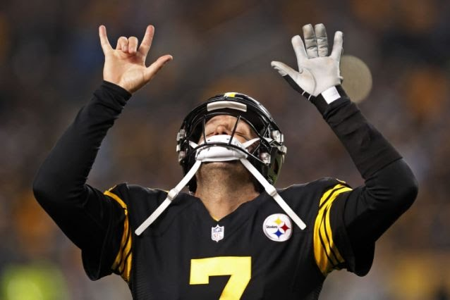 Big Ben Steelers dominate for a 52-21 rout over Cam Newton and the Panthers Thursday night. Foto