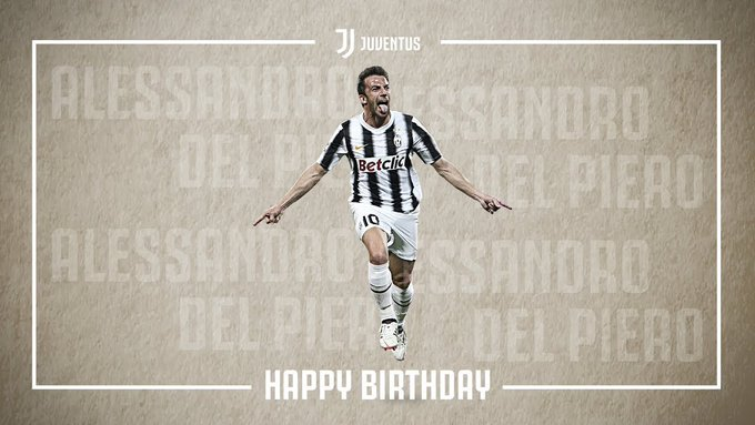 Happy birthday, Alessandro Del Piero!