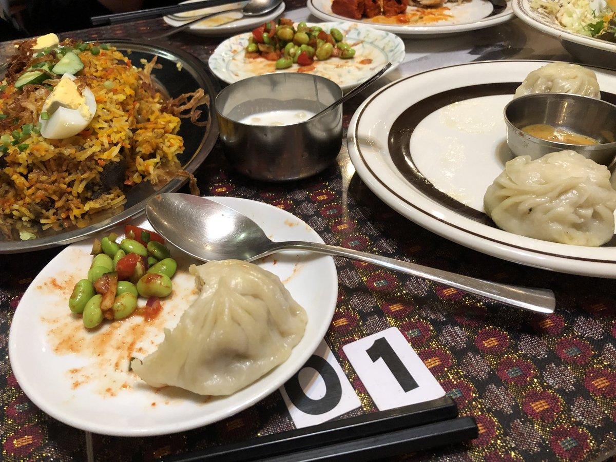 @kenziiiii モモも食べちゃいました◎ビリヤニはフワフワでとても美味でした! お腹いっぱいです🤤 https://t.co/t8pedOHh4L