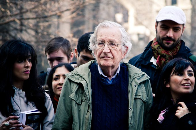 """Try reading all of the relevant articles, substituting the name John Smith for the name Noam Chomsky and see if you have the same visceral reaction."" Photo"