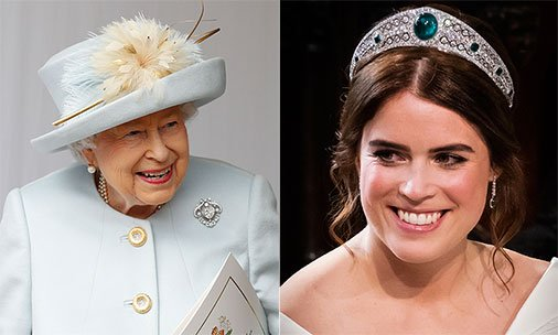 27e77331615 The Queen and Sarah Ferguson have sent the sweetest thank you cards  following Princess Eugenie s wedding