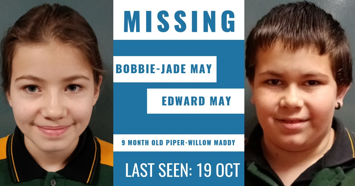 Have you seen these children?   Police hold concerns for the siblings' welfare due to their age and have released images of two of them in the hope someone recognises them. More details → https://t.co/67eJXMShu7