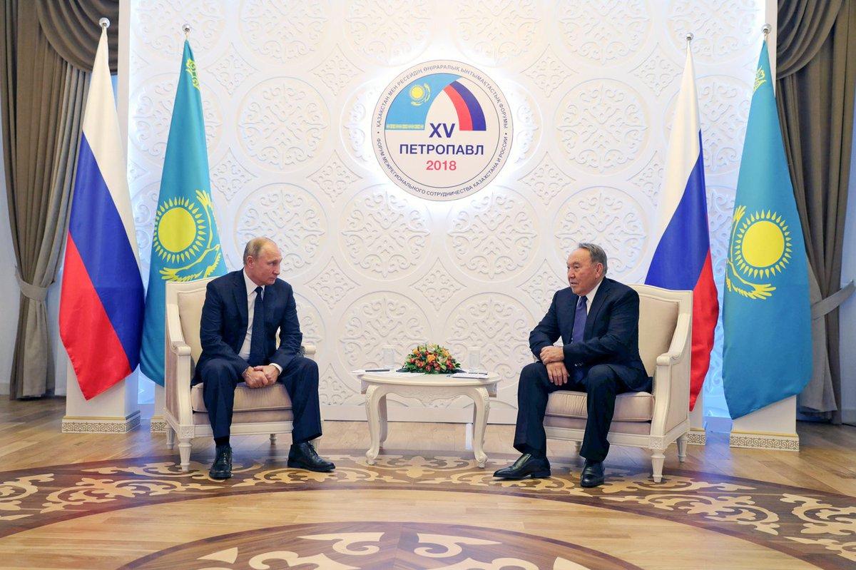 #Kazakhstan, #Petropavlovsk: meeting with President of Kazakhstan Nursultan Nazarbayev bit.ly/2qEZf3f