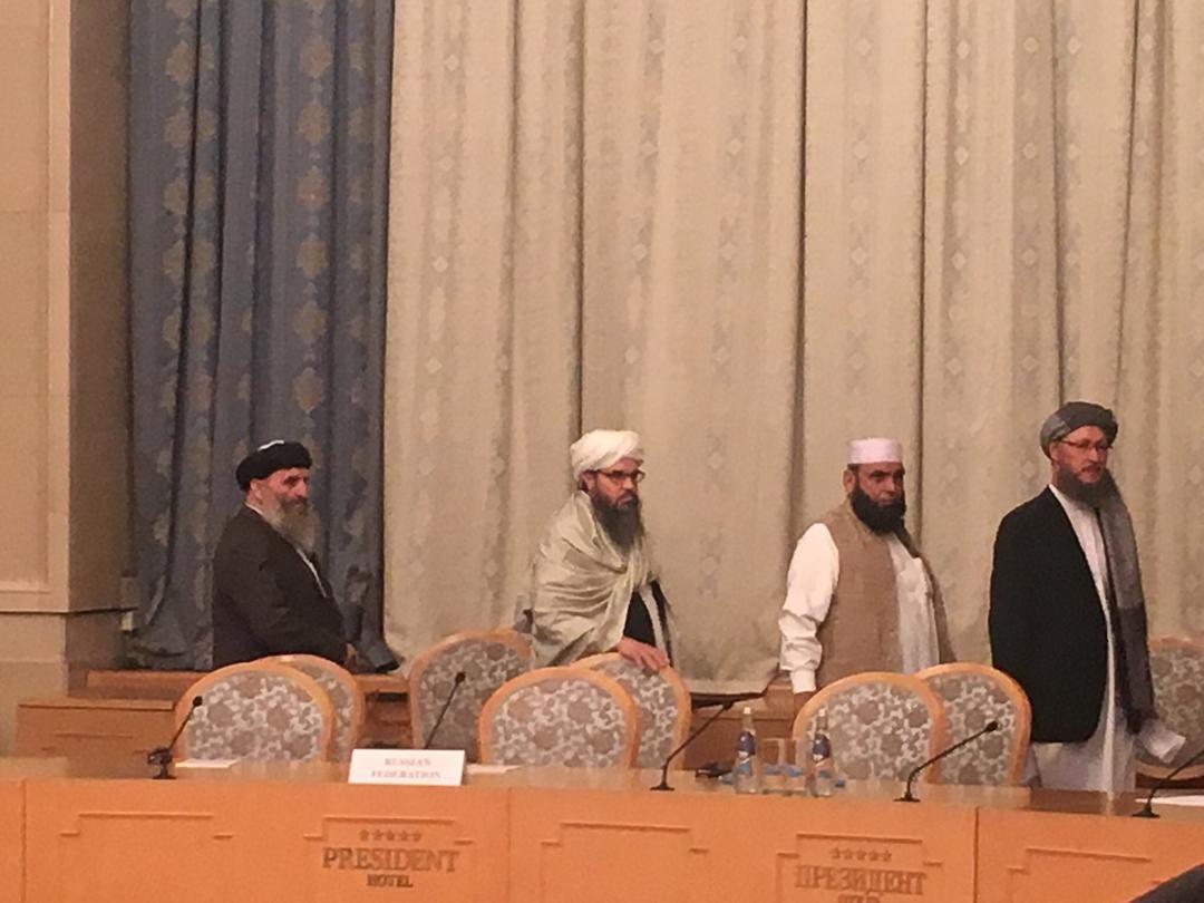 В Москве начались переговоры между представителями Талибана и афганским правительством