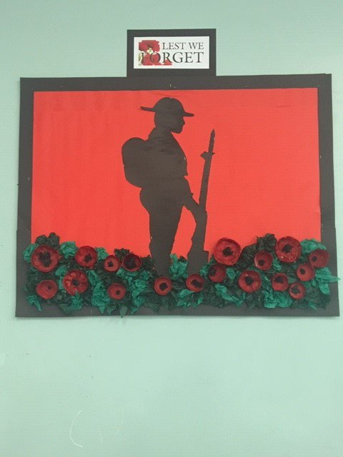 Haybrook College's photo on #Remembrance2018