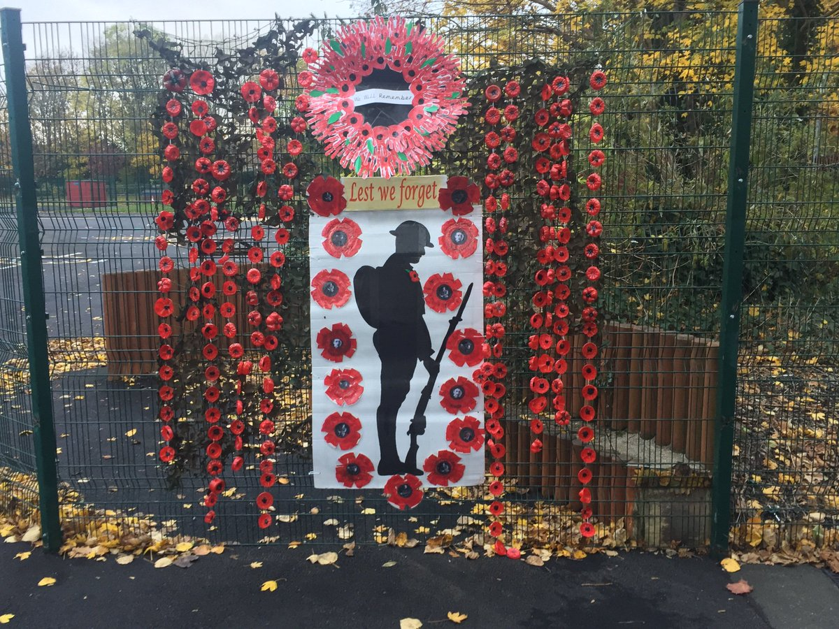 Park View Academy's photo on #Remembrance2018