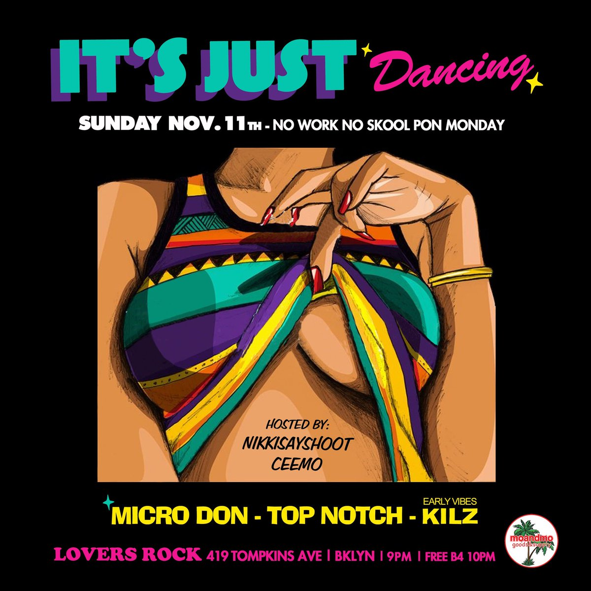 Sunday! #Brooklyn #Dancehall #Soca #Party #DJ