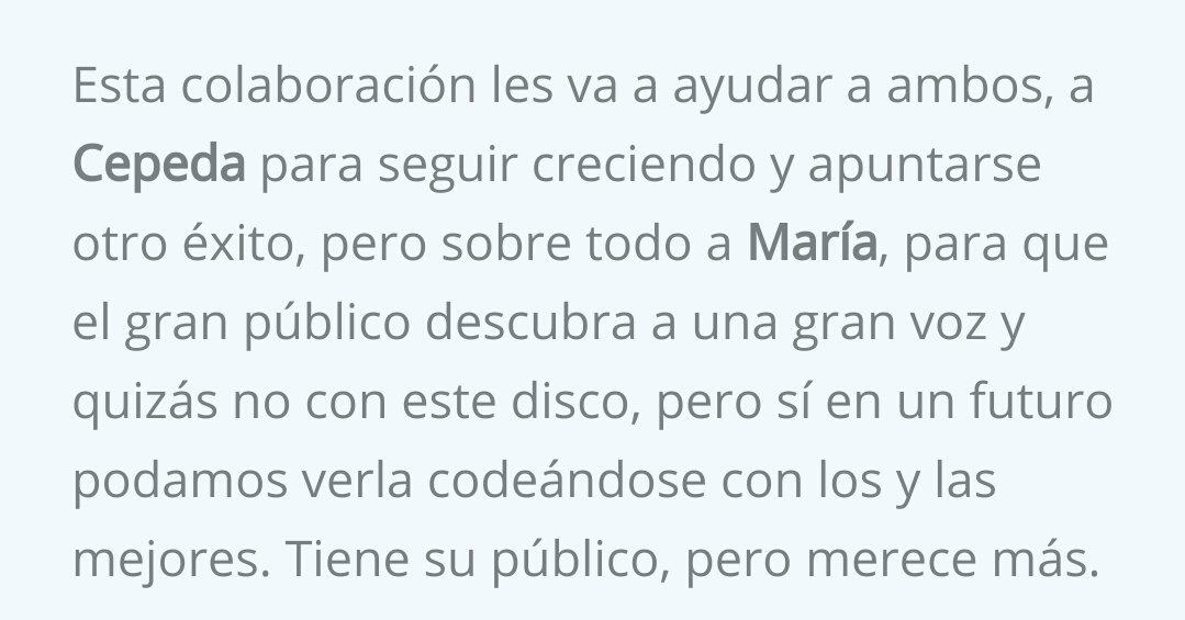 Info María Parrado's photo on #nocreoennada