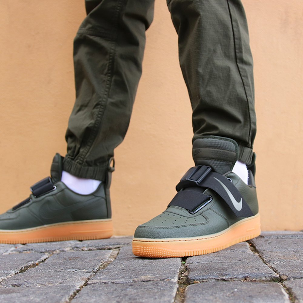 1d0743678851bf Online Now  The Nike Air Force 1 Low Utility - Sequoia Black is now ...
