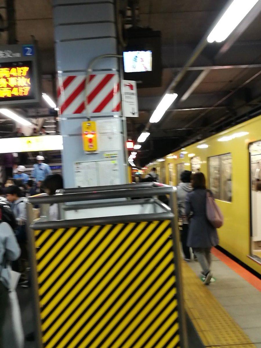 大泉学園駅で人身事故が起きた現場の画像