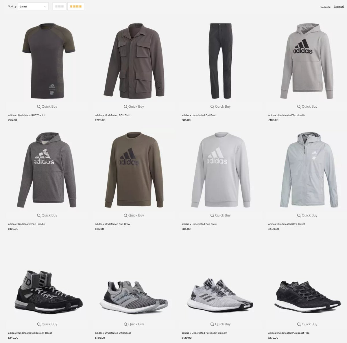 Die neue adidas x undefeated Kollektion What's new at