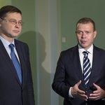 Image for the Tweet beginning: Finansminister @PetteriOrpo träffade EU-kommissionens vice