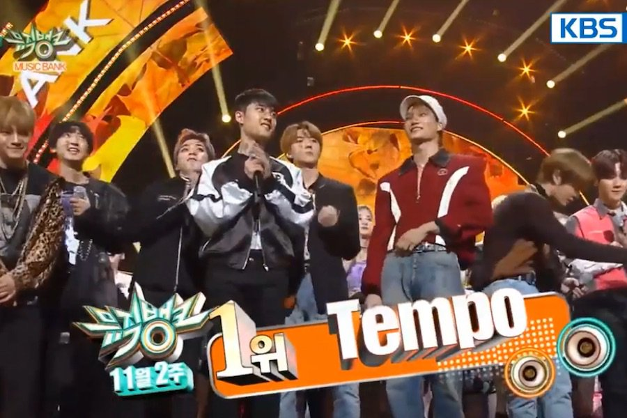"WATCH: #EXO Takes #Tempo1stWin On ""Music Bank"