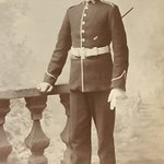 This is my Grandfather. He was a signalman during #WW1   He was wounded, protecting another soldier.   #Remembrance2018 #RemembranceDay2018 #Remembrance